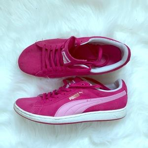 Puma womens Magenta sneakers size 8